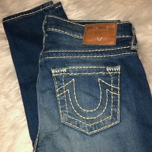 Halle super t true religion jeans